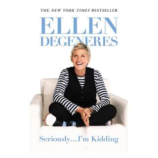 E-book English Book - Seriously... I'm Kidding - Ellen DeGeneres