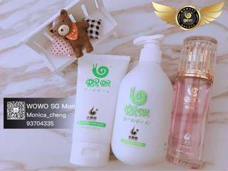 Wowo Hair set . shampoo , hair mask , hair Essential Oil , Anti Hair loss