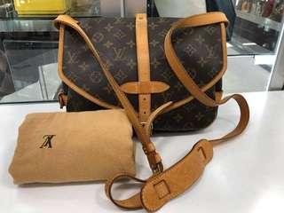 Authentic Louis Vuitton Saumur PM