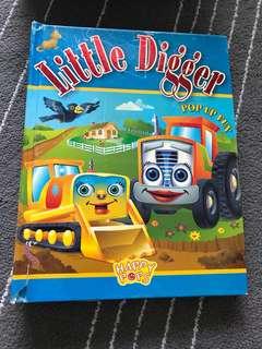Little Digger Pop Up Book