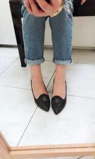 🚚 達芙妮漆皮高跟鞋