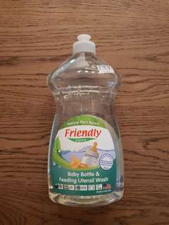 Friendly Organic Baby Bottle & Feeding Utensil Wash - 739ml