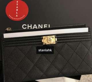 Boy chanel wallet 薄銀包