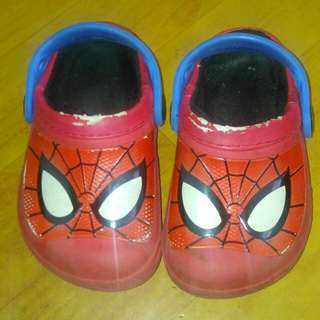 Spiderman crocs Kids Sandal