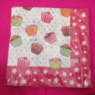 Napkins cake cup isi 29