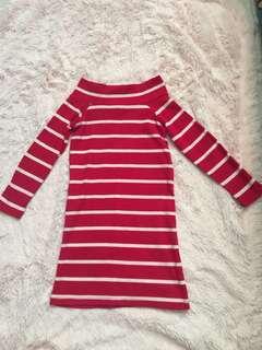 EUC knitted Dress 2T set 2pcs
