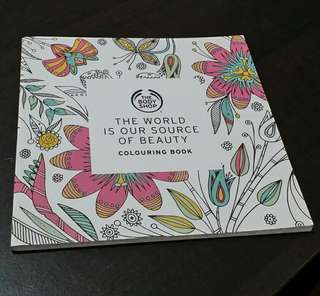 The Body Shop Colouring Book: The World is Our Source of Beauty