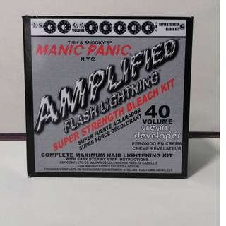 Manic Panic Amplified Flash Lightning 40 volume kit