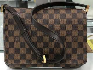 Authentic Louis Vuitton Damier Musette Tango