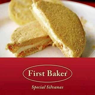 Special Silvanas FIRST BAKER 😋