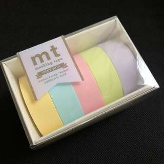 Mt tape pastel set
