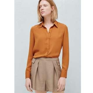 Mango Side Pockets Shorts