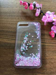 Pink Glittery Water Case