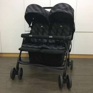 (Reduced to Clear) Joie Aire Twin Double Stroller