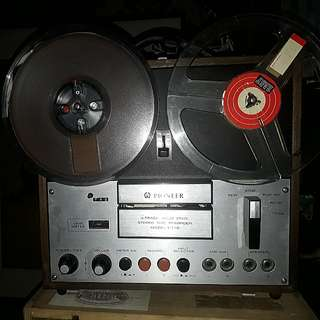 1969 T110 Pioneer 4 track stereo recorder