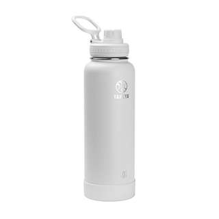 Takeya Actives Insulated Stainless Water Bottle with Insulated Spout Lid, 40oz, Arctic