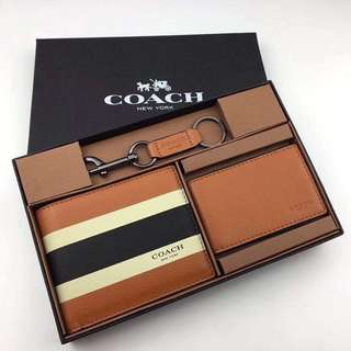 ORIGINAL COACH WALLET SET