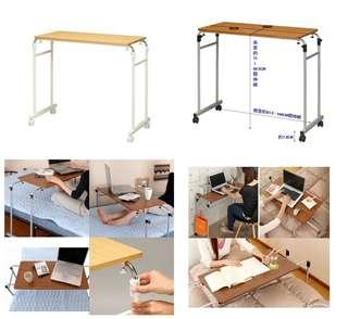 伸縮式活動床邊桌-兩色可選