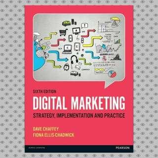 Digital Marketing, 6th Edition eBook