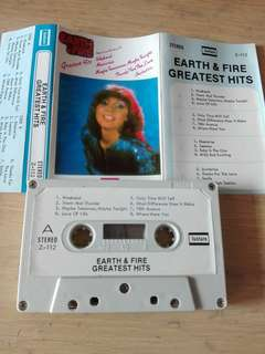 Earth And Fire Greatest Hits Cassette
