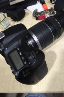 Canon 60d with 55-250 lens and 50mm lens