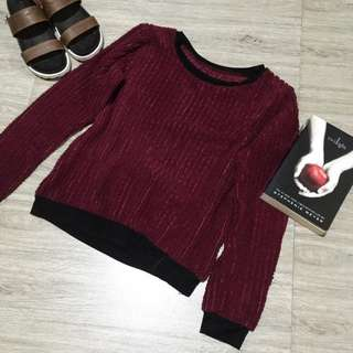 Fur Knitted Sweater/Pullover