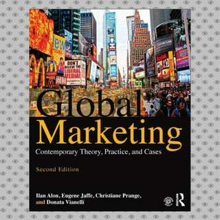 Global Marketing: Contemporary Theory Practice and Cases eBook