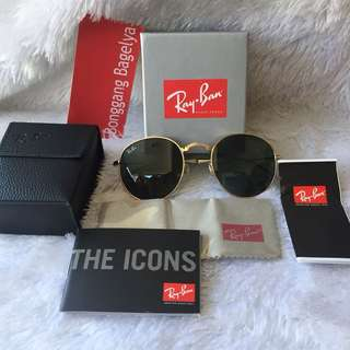 Authentic Rayban Foldable Sunnies