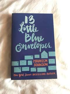 Books- 13 Little Blue Envelopes by Maureen Johnson