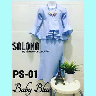 Baju kurung Saloma