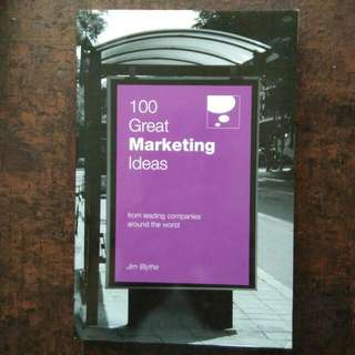 100 Great Ideas