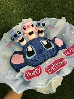 2D 史迪奇Stitch娃娃花束❤️