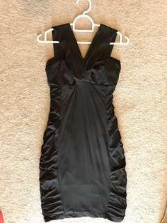 KOOKAÏ Black Bodycon Dress