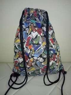 Drawstring fabric bag