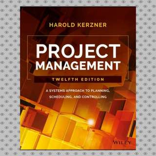 Project Management: A Systems Approach to Planning, Scheduling, eBook