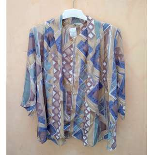 Over Sized Vintage Blouse