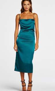 *RENT* Maurie and Eve - GREEN/BLUE/TEAL DRESS