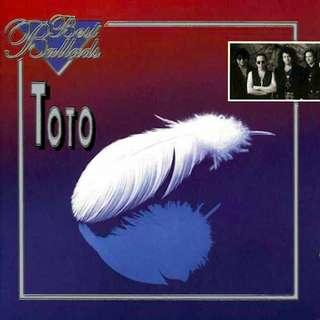 Toto Best Ballads cd