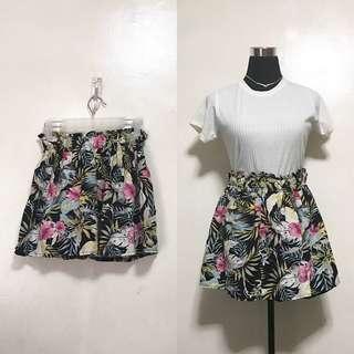 [Preloved] Tropical High Waist Skirt
