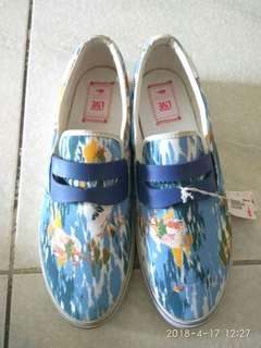 🚚 Lacoste海洋風格帆布鞋,正品公司貨,全新展示鞋,出清特賣490元