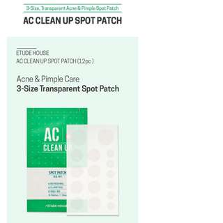 ETUDE HOUSE AC Clean Up Spot Patch (16 patches)