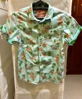 中童夏威夷shirt,夏天必備!