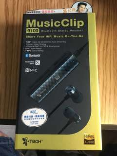 Music Clip 藍牙耳機