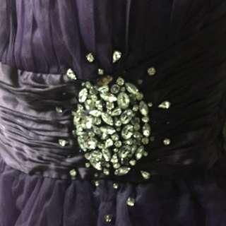 CockTail Dress Purple