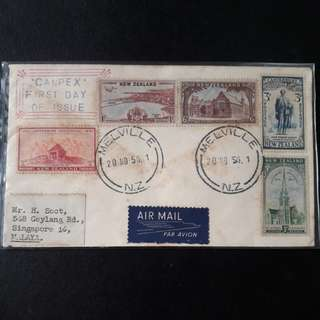 New Zealand1950 FirstDay Cover