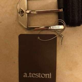 a.testoni Leather belt
