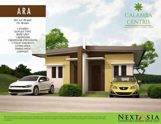 Bungalow Duplex at Calamba Centris