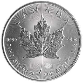 Canadian Maple Leaf Silver Coin 2016