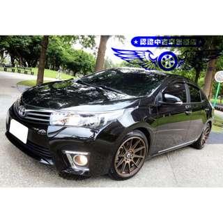 FB搜尋【桃園小翔】福特ALTIS 1.8L 2014年 全省最嚴格的售後服務!