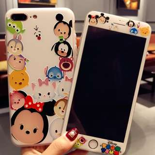 [ Phone Accessories ] Tsum Case + Tempered Glass